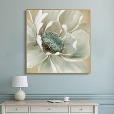 Lily Painting, Flower Painting Canvas, Flower Canvas, Flower Wall, Modern Canvas Art, Canvas Wall Art, Wall Art Prints, Poster Prints, Art Mural Fashion