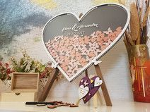 Check out our jubilee frame selection for the very best in unique or custom, handmade pieces from our frames shops. Wooden Easel, Wooden Boxes, Jubilee Line, Wood Guest Book, Personalized Cake Toppers, Wooden Chest, Heart Frame, Wedding Guest Book Alternatives, Heart Balloons