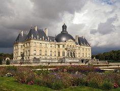 Chateau de Vaux-le-Vicomte Seine et Marne, France