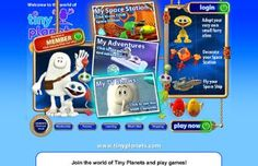 Tiny Planets virtual world for kids