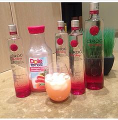 Love ciroc will have to try this combo!!