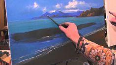 Живопись маслом. Урок Морской пейзаж