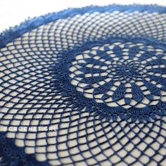 """Lacy Mesh doily is available in my store 💙"""
