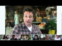Jamie Oliver does a G+ Hangout with revolutionaries around the world - Robyn O'Brien, Alice Randall, Shane Valentine, Farah Rayim and Kimanh to celebrate Food Revolution Day
