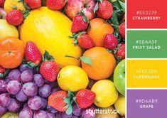 101 Color Combinations to Inspire Your Next Design – Fruits Color Palette