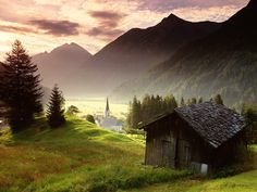 Austria. I'd live in that shack. Number One place I've always wanted to see.