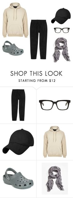 """""""Noah casual 2"""" by prannke on Polyvore featuring Aimé Leon Dore, Belstaff, River Island, Crocs, Brooks Brothers, men's fashion and menswear"""