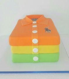 Polo t-shirt cake
