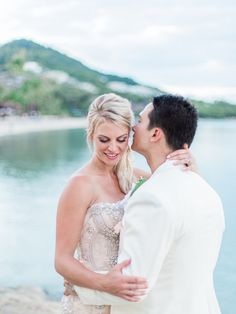 Candice and Neil's destination wedding in Kho Samui. Shot by Abby for The Barefoot Brunettes. Wedding Destinations, Destination Wedding, Brunettes, Barefoot, Wedding Dresses, Fashion, Bride Dresses, Moda, Bridal Gowns