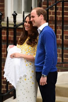 Royal Baby First Pictures As Kate Middleton, William And New Princess Leave Hospital