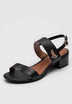 Sandália AZALEIA Ilhós Preta - Marca AZALEIA Sandals, Shoes, Products, Fashion, Black, Brazil, Tortoise Turtle, Moda, Shoes Sandals