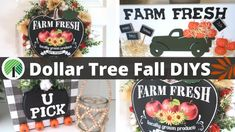 Dollar Tree Fall DIYS 2020 - YouTube