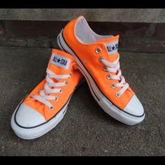 new product 27d5b 34bca Converse Shoes   Converse Sneakers   Color  Orange   Size  6