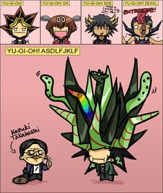 A próxima sequência lógica de Yu-Gi-Oh! 8)
