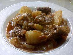 Μοσχάρι στιφάδο !!! - Χρυσές Συνταγές Greek Recipes, Meat Recipes, Greek Beauty, Greek Dishes, Lamb, Pork, Food And Drink, Beef, Chicken