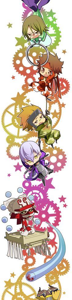 Tags: Anime, Sengoku Basara, Sanada Yukimura (Sengoku Basara), Capcom, Motochika Chosokabe (Sengoku Basara), Mori Motonari (Sengoku Basara),...