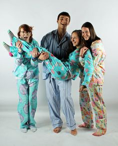We love pajama days with friends! SHOP - http://www.thepajamacompany.com/store/pajama/