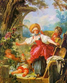 Jean-Honoré Fragonard, Le Colin-Maillard, vers Toledo Museum of Art. Rococo Painting, Oil Painting Reproductions, National Gallery Of Art, French Rococo, French Art, Toledo Museum Of Art, Art Museum, Fragonard Paintings, Oil Paintings