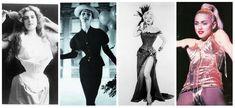 Women in history in corsets