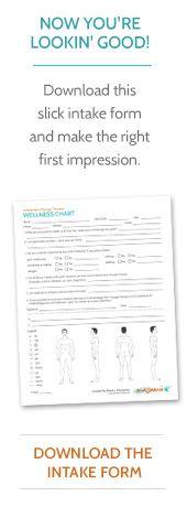 free massage therapist intake form massamio