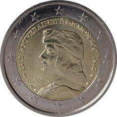 """c4c97484ec Moneta Celebrativa """"500° anniv. della sovranità di Monaco"""" Anno: 2012 Stato"""
