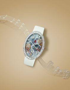 Van Cleef & Arpels watch photographed for Luxure Magazine  #watch #jewellery #music #stilllife