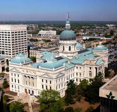 Indiana State Capitol building - Indianapolis, Indiana