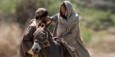 """Watch and share a short video depicting Luke 2:4-7 in the Bible, """"Mary and Joseph                 Travel to Bethlehem."""" Also see related text and photos."""