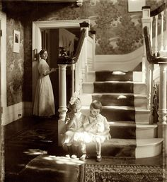 +~+~ Antique Photograph ~+~+   These girls and the light in this photograph take my breath away