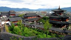Day 48: DaLi, YunNan Province, China, Ancient Old Town City, CangShan Cang Shan Mountain Mount, ErHai Er Hai Lake Sea Ocean, Pagoda, Tower,   ChongSheng Chong Sheng Temple, Three Pagodas of Chong Sheng Temple, Butterfly Spring, Chinese Foods made of from milk and rice