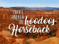 Horseback Riding Adventure In Bryce Canyon National Park