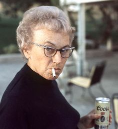 Aunt Edwyna liked Coors and she liked unfiltered Camels. And pretty shoes. Anything else was just a distraction.
