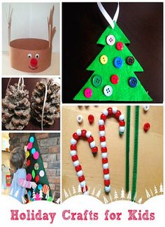 123 Best Holiday Kids Crafts Images