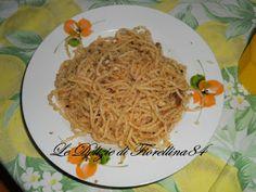 Le Delizie di Fiorellina84: Spaghetti con mollica e acciughe