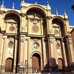 Fachada de la Catedral de Granada- Alonso Cano comenzada en 1667
