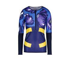 Stella McCartney - Navy techfit Long sleeved t-shirt - AI15 - 11_f