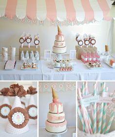 Kami Buchanan Custom Designs: Ice Cream Party Inspiration Board