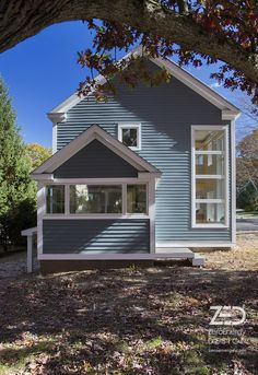 Needham Deep Energy Retrofit - by green architect — ZeroEnergy Design - Boston Green Home Architect Cape Style Homes, Green House Design, Small House Floor Plans, Bright Homes, Architect House, Exterior House Colors, Prefab Homes, Container Architecture, Cargo Container
