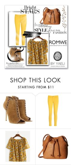 """romwe"" by samraxy ❤ liked on Polyvore featuring Michael Kors, Tommy Hilfiger, ECCO and Pier 1 Imports"