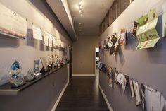 Our awards hall and portfolio showcase