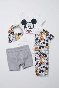 def902310b475a Vierdelige tricot set - Wit/Mickey Mouse - KINDEREN | H&M NL 1  Peuteractiviteiten,