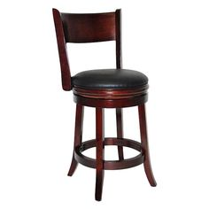 Have to have it. Boraam 24-Inch Palmetto Swivel Counter Stool $99.99