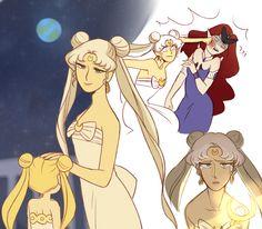 Sailor Moon by Sailor Moon Funny, Sailor Moon Fan Art, Sailor Moon Character, Sailor Moon Manga, Sailor Moon Y Darien, Sailor Moom, Sailor Venus, Sailor Moon Crystal, Dango Peluche