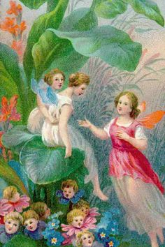 Fairies and flower people