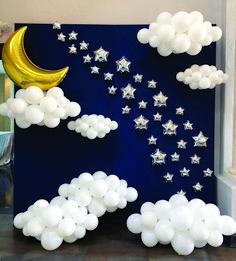 Best Baby Shower Themes Ideas Balloons Ideas Beste Baby-Dusche Themen Ideen Luftballons Ideen shower ideas for a boy Deco Baby Shower, Shower Party, Baby Shower Parties, Baby Shower Themes, Baby Boy Shower, Baby Shower Backdrop, Shower Ideas, Baby Shower Balloon Decorations, Cloud Baby Shower Theme