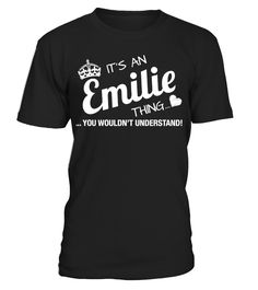 It's An Emilie Thing   => Check out this shirt by clicking the image, have fun :) Please tag, repin & share with your friends who would love it. Christmas shirt, Christmas gift, christmas vacation shirt, dad gifts for christmas, mom gifts for christmas, funny christmas shirts, christmas gift ideas, christmas gifts for men, kids, women, xmas t shirts, Ugly Christmas Sweater Shirt #Christmas #hoodie #ideas #image #photo #shirt #tshirt #sweatshirt #tee #gift #perfectgift #birthday #Christmas