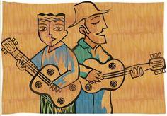 Brazil folk singers