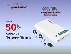 #Amazon_Deal_Of_The_Day GET UP To 50% OFF On Power Banks +Amazon India  http://www.amazon.in/dp/B01KTC3Q3G #powerbank #powerbankformobile #amazon #powerbankamazon #powerbankoffer #powerbankprice #powerbank #bestpowerbank #bestpowerbankinindia