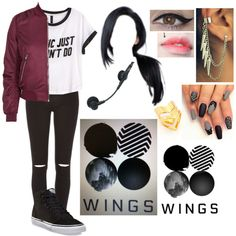 BTS - Am I Wrong - Live Outfit