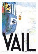 Vail Gondola 1962 Ski Poster